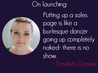 Launching With Farideh Caeser