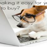 customers browsing website - blog