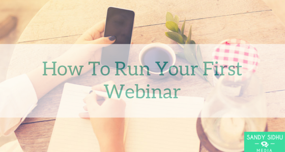 run your first webinar